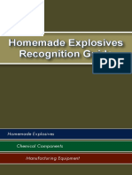 Maryland Heights PD - Homemade Explosives Recognition Guide