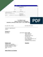 Criminal Docket Sean Moore Case