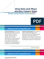 understanding data and ways to systematically collect it