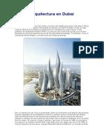 Arquitectura en Dubai Nadia