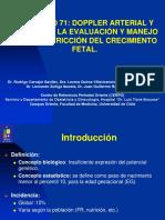 Evaluación de la Restricción de Crecimiento Fetal- Doppler Arterial y Venoso