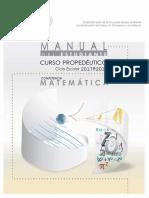 Manual Del Estudiante Matemáticas