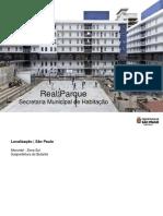 Projeto de reurbanização do Real Parque