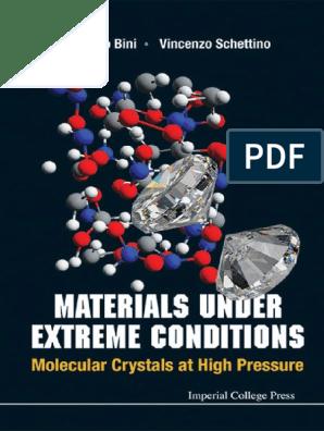 Vincenzoschettinomaterials Under Extreme Conditions2013