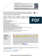 Treatment of Peripheral Arterial Disease in Diabetes- A Consensus of the Italian Societies of Diabetes (SID, AMD), Radiology (SIRM) and Vascular Endovascular Surgery (SICVE)