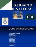 La Investigacion Cientifica