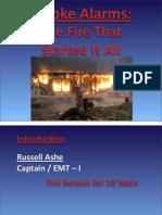 Russell Ashe Smoke Detector Presentation