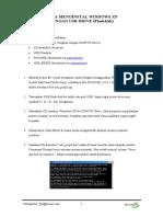 Cara Menginstal Windows Xp dengan USB Drive ( Flashdisk)