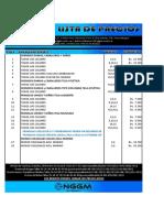 Act Lista de Precios 08 03 2017