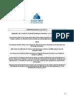 Informe Anual Casas GEO