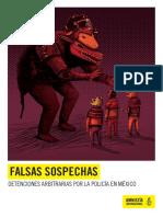 Falsas sospechas. Detenciones arbitrarias por la policía en México