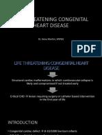 1. Life Threatening Congenital Heart Disease Edisi II Dr. Heny Martini, Spjp(k)