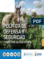 Politica de Defensa y Seguridad 2015-2018 Diagramada Feb 17 16