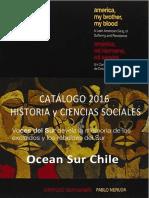 Catalogo Ocean Sur Historia y C_S 2016