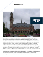 Esquema de Conceptos Básicos, Justicia Penal Internacional - Instituto de Altos Estudios Universitarios España