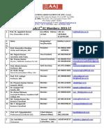 AAJ EC Election 15-17