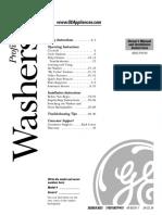 001-Manual de Servicio. Lavadora VMW_español