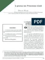 O direito à prova - Eduardo Cambi