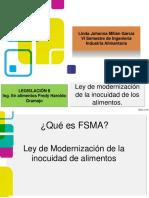 Presentación de La Ley Fsma