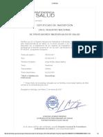 Certificado registro superintendencia