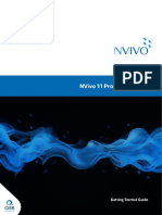 NVivo11 Getting Started Guide Pro Edition