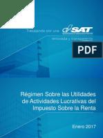 ISR - Régimen sobre las utilidades.pdf