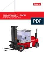 Fork lift 1078-DCE6090-27-q5m