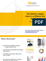 Benchmark Mineral World Tour - The Battery Supply Chain in a Lithium-ion Revolution