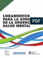 Lineamientos Atencion Urgencia Salud Mental
