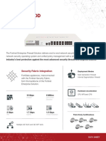 FortiGate_400D Datasheet