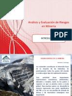 1 Introducción Analisis y Evaluacion de Riesgos en Minería