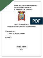 Derecho Sucesorio en las uniones de hecho en Perú.docx