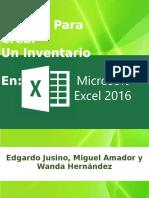 Modulo Para Crear Un Inventario en Ecxel
