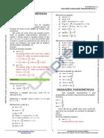 Nota de Aula - Equações e Inequações Trigonométricas
