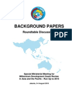 Background Paper SMM MDGs