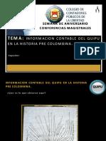 Informacion Contable Del Quipu en La Historia Pre Colombina