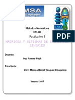 Metodos Matrices