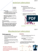 Mycobacterium Tuberculosis Slides Raza Siddiqui