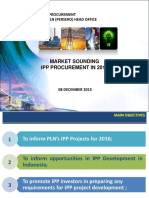 2015 12 08 Market Sounding IPP Procurement for 2016 - R2