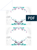 Peacock Printable Party