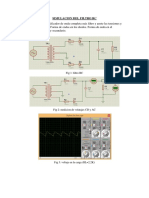 Simulacion de Filtro Rc