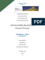 Diccionario Derecho Procesal_AbuslemePinto