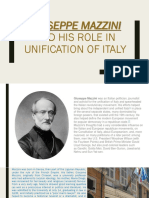 GUISEPPE MAZZINI AND HIS ROLE IN UNIFICATION OF.pptx