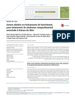 17 RBO 1066 - Sutura Elastica No Fechamento de Fasciotomia Para Tratamento de Sindrome Compartimental