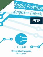 Modul Rangkaian Elektronika 2017