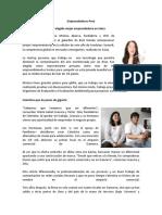 Emprendedores Perú