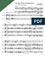Complete Star Wars Collection Bb Trumpet Quartet