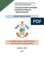 Protocolo Para Sustentación de Informe de Investigación 1