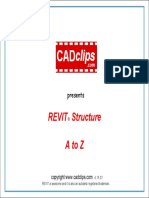 REVIT STRUCTURE VIDEO CADCLIP TRAINING OUTLINE.pdf