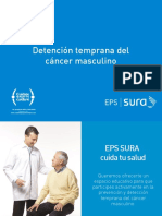 Deteccion Temprana de Cancer Masculino Eps Sura